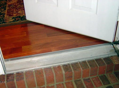 exterior door threshold help with front door threshold pictures