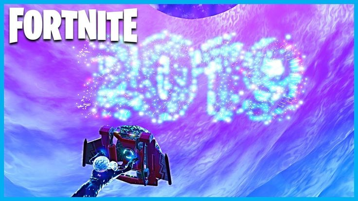 FortNite 2019 New Year's Event in Battle Royale Icy_Hot