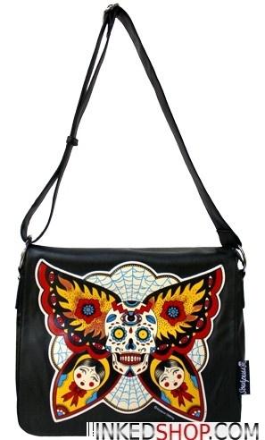 Butterfly Effect Messenger Bag
