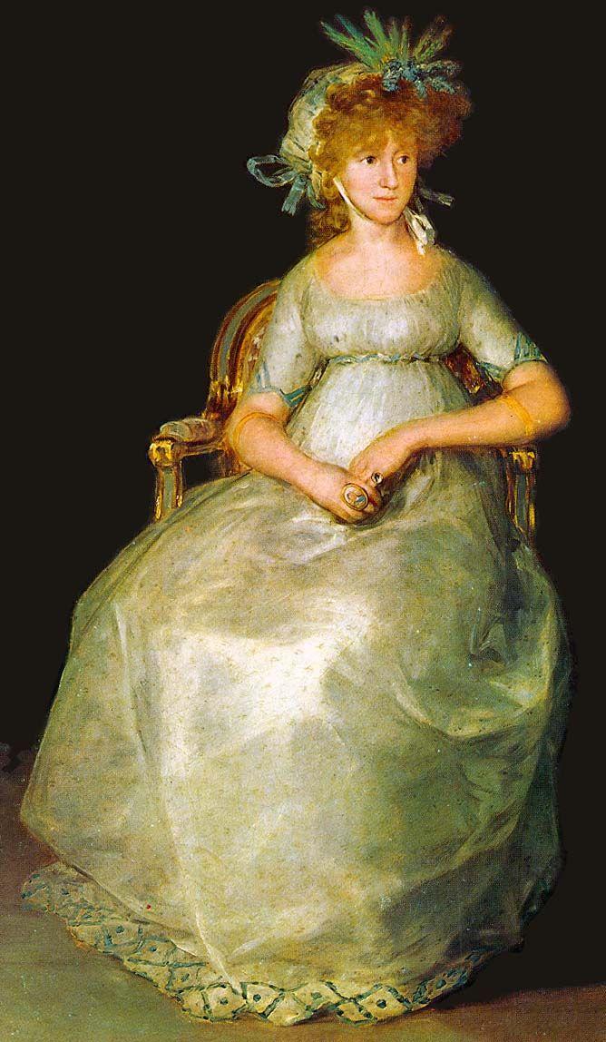 La  Condesa de Chichón. Francisco de Goya y Lucientes. 1800. Museo Nacional de El Prado. Madrid.  España.            women of the 1800s | Size of this preview: 349 × 600 pixels . Other resolutions: 139 ...