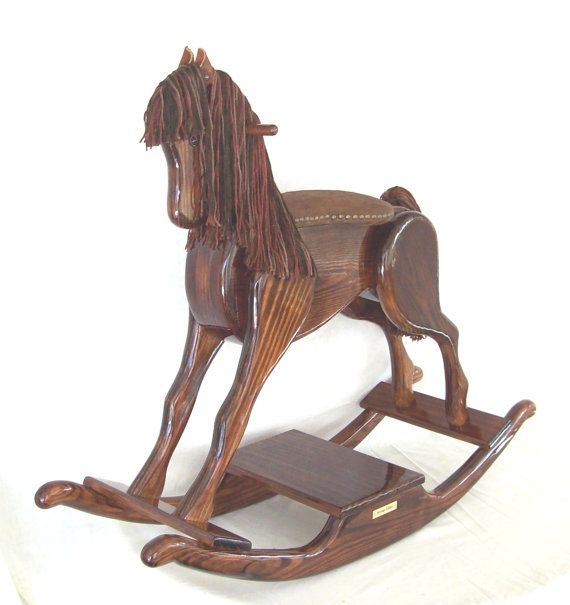 Best 25+ Wooden Rocking Horses Ideas On Pinterest