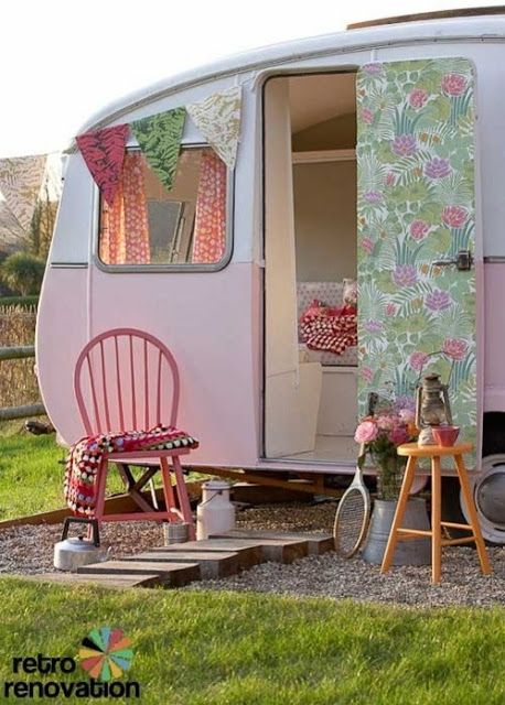 pina colada recipe: Glamping...Caravans revisited