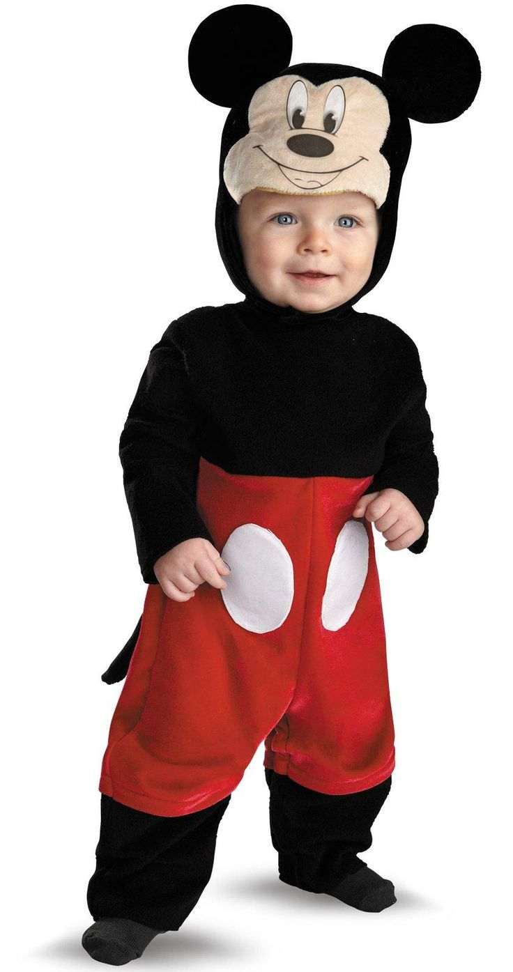 Disney Mickey Mouse Infant Costume from BirthdayExpress.com
