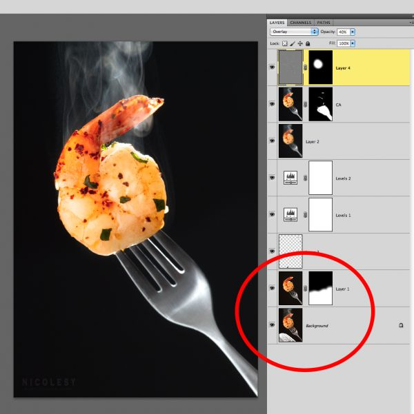 Food Photography and Styling: Adding Steam