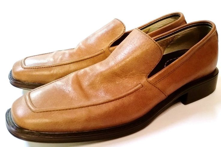 ROCKPORT LEATHER LOAFERS DRIVING SLIP ON BROWN CASUAL SHOES 10 M MENS SZ 10M #Rockport #DrivingMoccasins http://www.ebay.com/itm/-/381244045311?