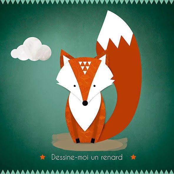 La Lykorne Illettrée: Dessine-moi un renard