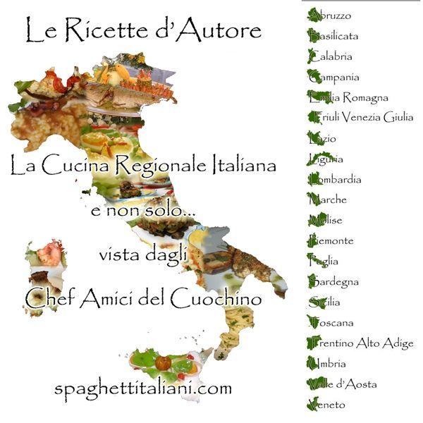 Le Ricette d'Autore - La Cucina Regionale Italiana vista dagli Chef amici del Cuochino - come partecipare