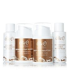 Abi O 4 Piece Golden Goddess Discovery Kit - take a closer look