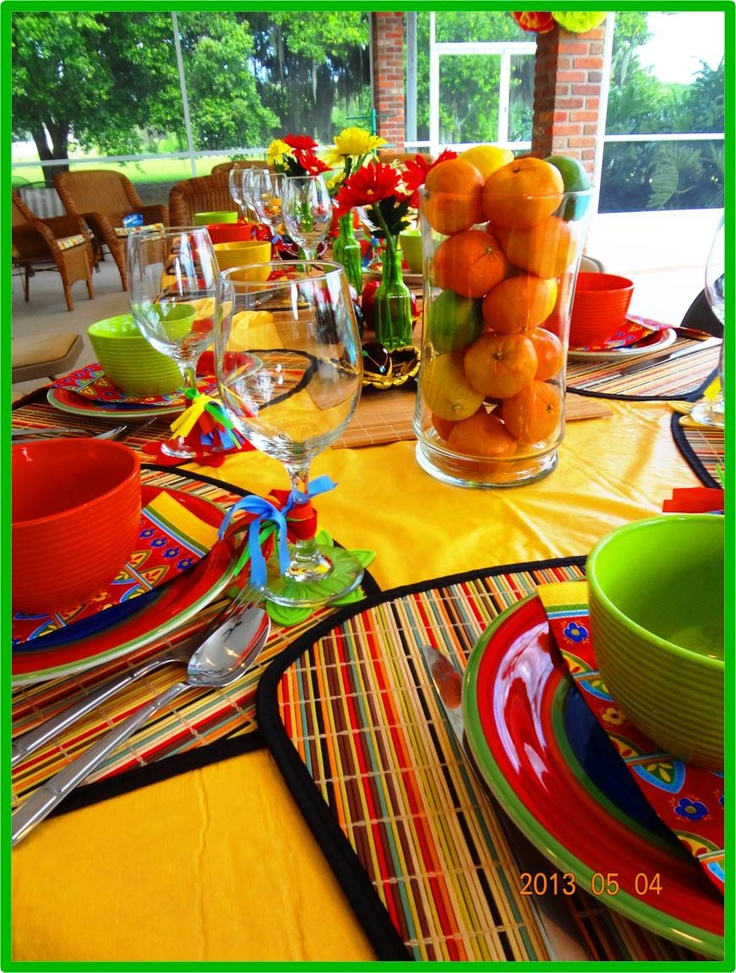 30 best cinco de mayo tables images on pinterest mexican party fiesta party and desk layout. Black Bedroom Furniture Sets. Home Design Ideas