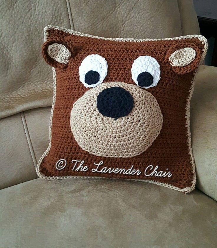 1116 best Crochet Pillows, Poufs, Cushions etc... images on ...
