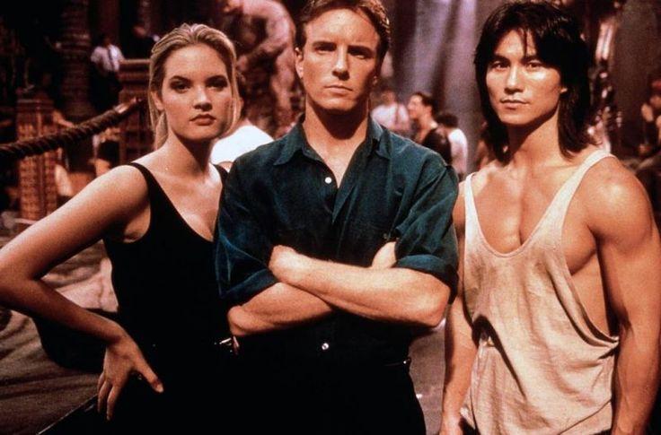 Mortal Kombat (1995) Sonya Blade, Johnny Cage, and Liu Kang
