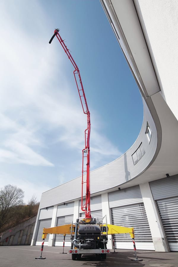 Truemax stock the well known Sermac range of truck-mounted concrete pumps available in a range of sizes. We also have a range of used concrete pumps.