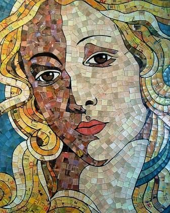 Schimmel Art is amazing. Made from recycled cards and paper.