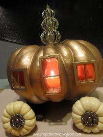 "Project: Mommie: The ""Midnight Hour"" Pumpkin (Cinderella's Pumpkin Carriage)"