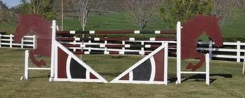 Jumps West | Custom Horse Jumps | Walls and Freestanding Filler Accessories