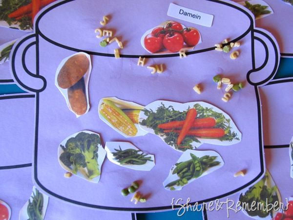 Supporting Child Wellness in Early Childhood Education Vegetable Soup Art for Preschoolers