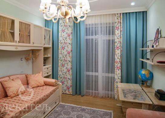 Шторы для детской комнаты девочки 2016 | Красивые шторы для детской | Дизайн штор в Новосибирске | Дизайн штор для детской | Декатель Новосибирс