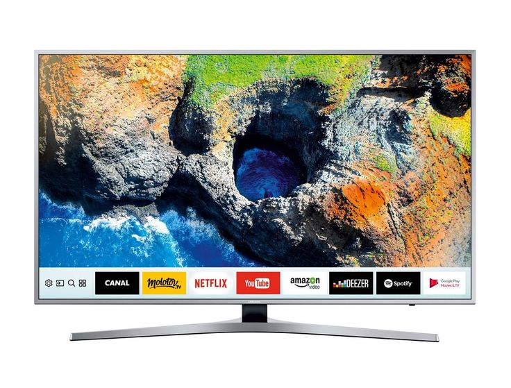 Soldes Téléviseur Rue du Commerce , achat Samsung TV LED 164cm UE65MU6405 pas cher prix Soldes Rue du Commerce 1 299.99 € TTC au lieu de 1 474.99 €