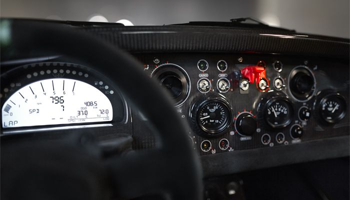 Donkervoort D8 GTO Bare Naked Carbon Edition | Dashboard
