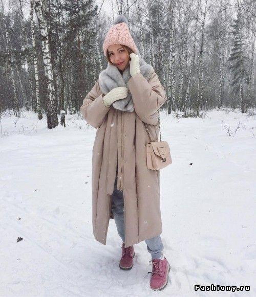 Зимние образы от модных блоггеров