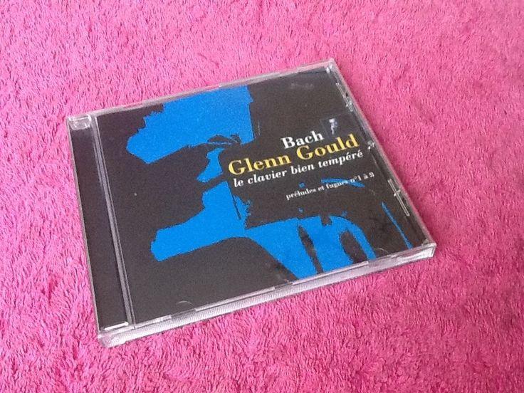 CD Bach Glenn Gould, le clavier bien tempéré (2000)