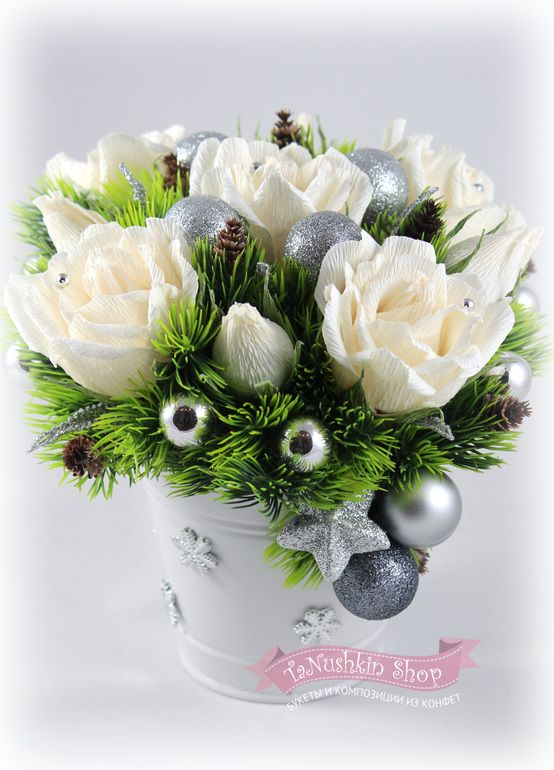 Новогодние букеты будем отгружать ведрами:) - Babyblog.ru