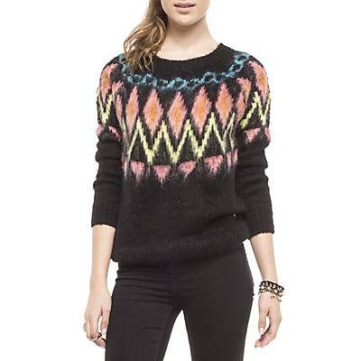 Me gustó este producto Americanino Sweater Peludo Negro. ¡Lo quiero!