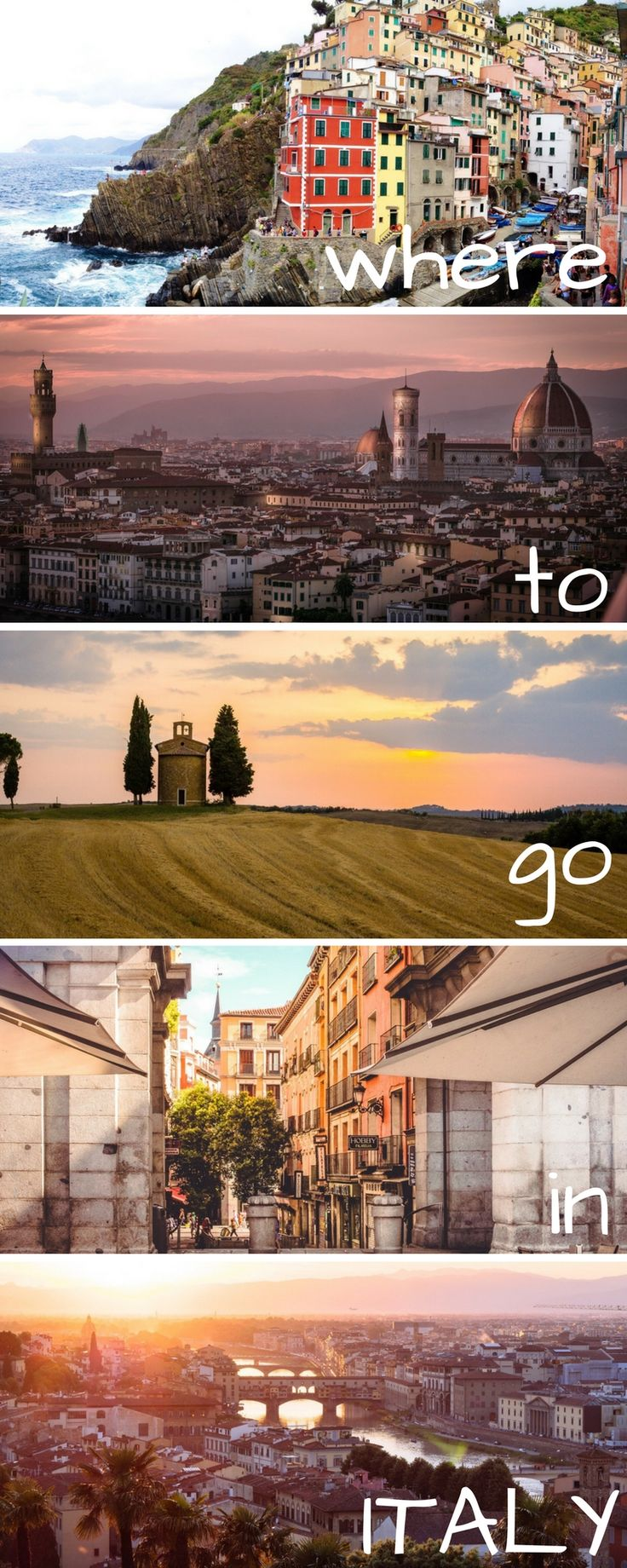 Italy is the perfect country to vacation to. Rome, Florence, Napes, Venice, Cinque Terre, Tuscany, Positano, Amalfi Coast, Lake Como, Siena. All are fabulous places to travel to. Here are tips and suggestions for even a honeymoon in Italy.