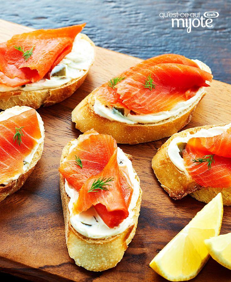 Les 25 meilleures id es de la cat gorie pr sentation for Canape saumon fume