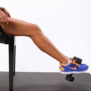 { Inner Thigh Exercises}  & it should be noted I LOVE the orange & blue sneakers!