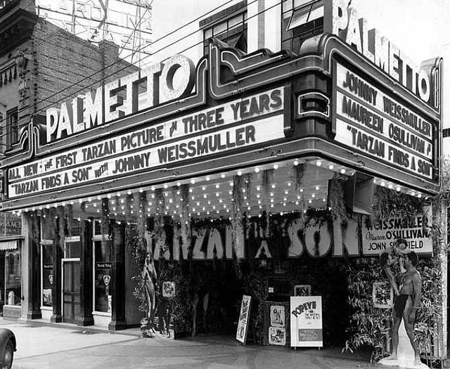 Palmetto Theatre, Columbia, SC. Theaters Pinterest