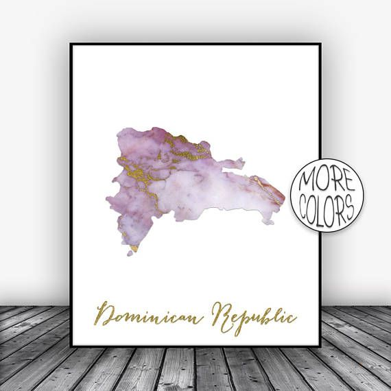 Dominican Republic Print, Office Art Print, Watercolor Print, Map Print, Map Art, Map Artwork, Office Decor, Country Map, ArtPrintsZoe #OfficeArt #WatercolorPrint #OfficeDecor #ArtPrintsZoe #MapPrint #MapArt #MapArtwork #OfficeArtPrint #CountryMap #ArtPrint