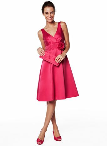 Lovely fuschia dress from BHS. Anyone need a wedding outfit?