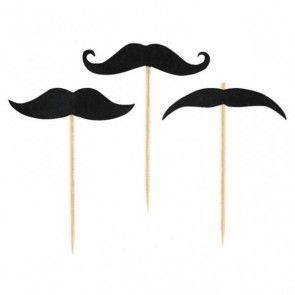 Διακοσμητικά στικ μουστάκια