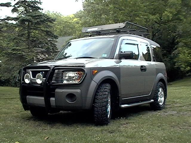 Does Anyone Have Beefier Looking Tires On Their E?   Page 3   Honda Element  Owners Club Forum