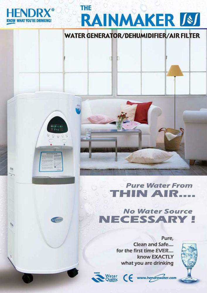 Atmospheric Water Generator AWG - Drinkable water from air | Home, Furniture & DIY, Appliances, Other Appliances | eBay!