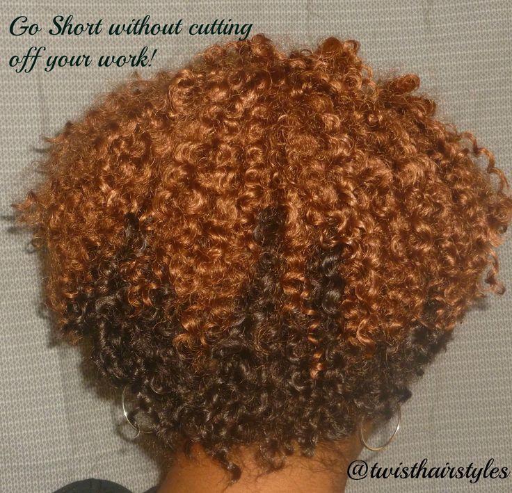 crochet braids by twist short cropped cut with bohemian