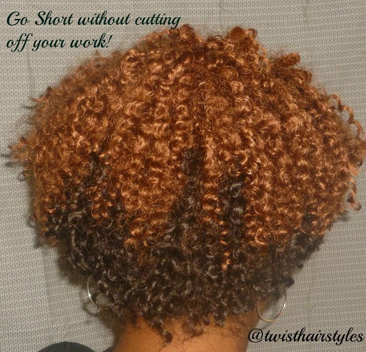 crochet braids by twist short cropped cut with bohemian