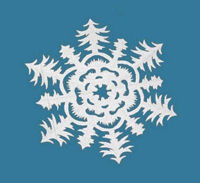 НАША СТРАНА МАСТЕРОВ: 14 восхитительных снежинок и других поделок из бум...