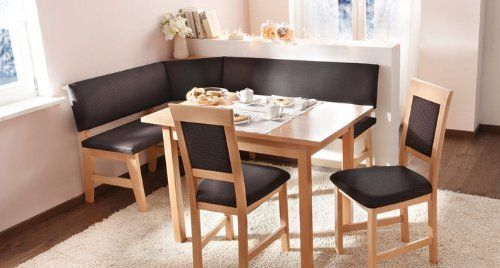 Salzburg Modern Breakfast Nook set Offered by Schoesswender Furniture in Austria . This item is currently in stock and ships within 2-4 business days. Please email me or call (561)809 6775 for any questions Sales Price:1598.00 Set includes: cor...