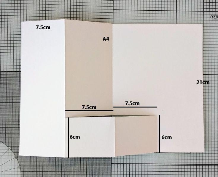 Открытки раскладушки схема