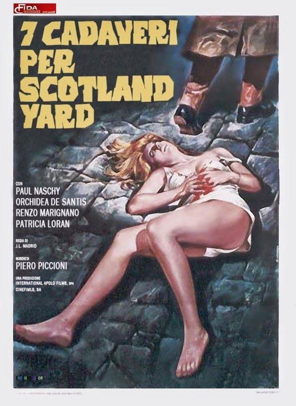 7 Murders for Scotland Yard Movie free download HD 720p