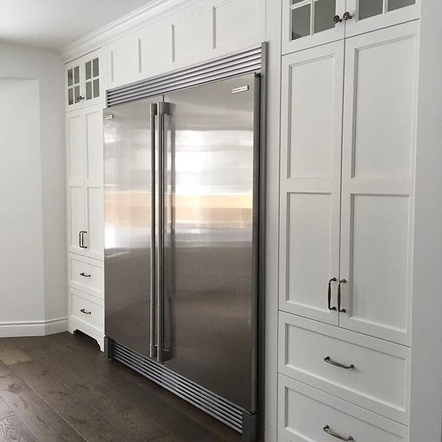 Built In Fridge Pantry Baking Center And Wall Ovens Kitchen Wall Storage Cabinets Built In Pantry Kitchen Furniture Storage