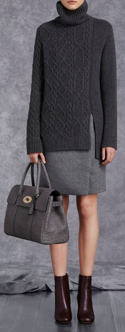 #Mulberry - P-F 14 #fashion #trends #style #fashiontrends
