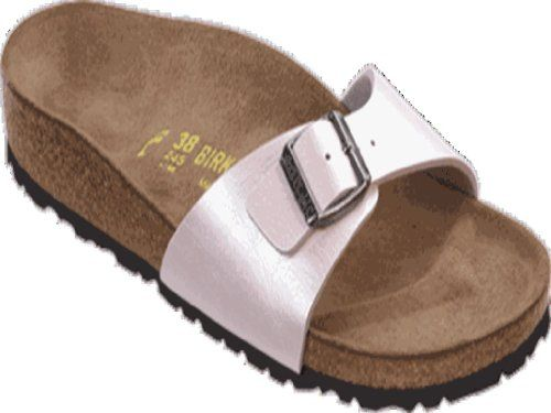 Birkenstock slippers Madrid in size 37.0 N EU made of Birko-Flor in Graceful Rosa with a narrow insole Narrow width (, S, XN, Schmal, Estrecho, Slim, étroit, stretta). Manufacturer: Birkenstock Material: synthetic Footbed: Birko Flor Sole: EVA. Color: Graceful Rosa. Footbed: Birko FlorSole: EVA. Made in Germany and send directly from Germany.  #Birkenstock #Shoes