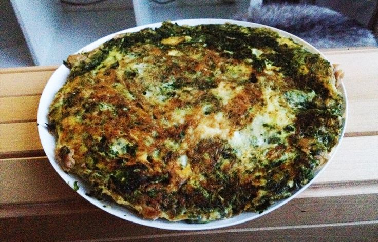 Recept: Super high protein spinazie tonijn omelet