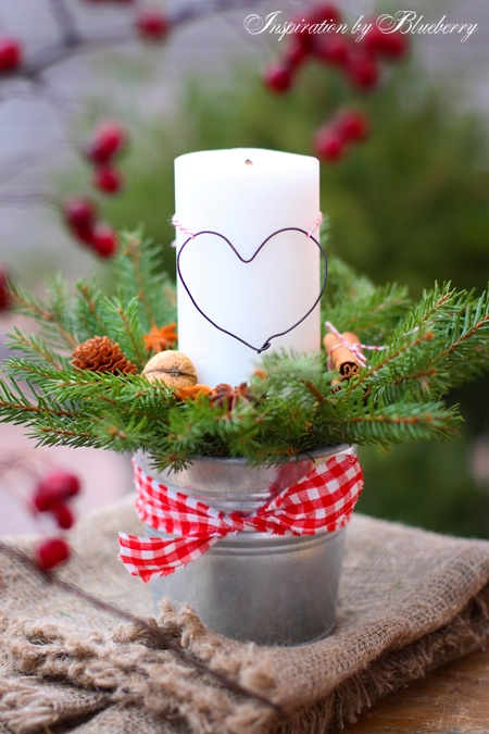 Blueberry: Christmas Candle