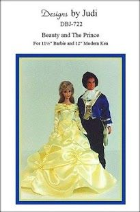 "Free Barbie and Ken Outfit Pattern - (in English) ""The Beauty and the Prince""; click on the cover; it will take you through the entire booklet."