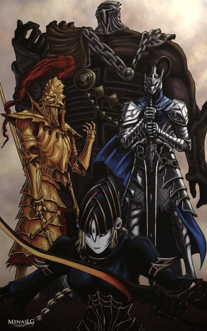 Dark Souls: Four Knights Recolor by MenasLG on DeviantArt