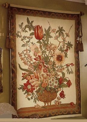 Century Floral Wall Tapestry. h1Century Floral Wall Tapestry_h1Century Floral Wall Tapestry. Created by skilled designers, this beautiful tapestry was jacquard-woven in the mills of Europe, utilizing decades of experience from the worlds finest .. . See More Wall Tapestries at http://www.ourgreatshop.com/Wall-Tapestries-C1115.aspx